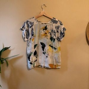 Maeve by Anthropologie Southern Silk Blouse size 4